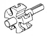 Ротор (чугун) с валом 0300-1700C